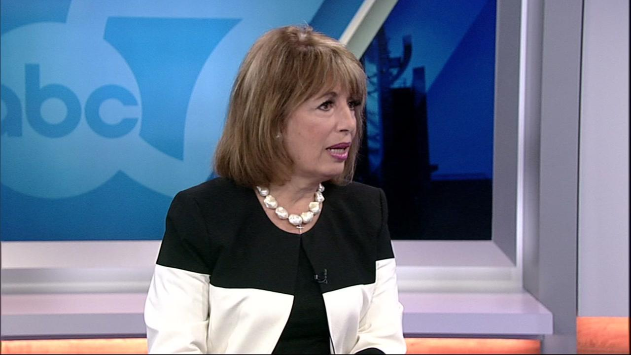 Congresswoman Jackie Speier is interviewed in San Francisco on Tuesday, Sept. 18, 2018.