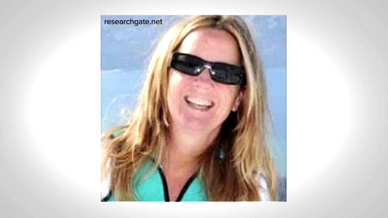 This is an undated image of Christine Blasey Ford.