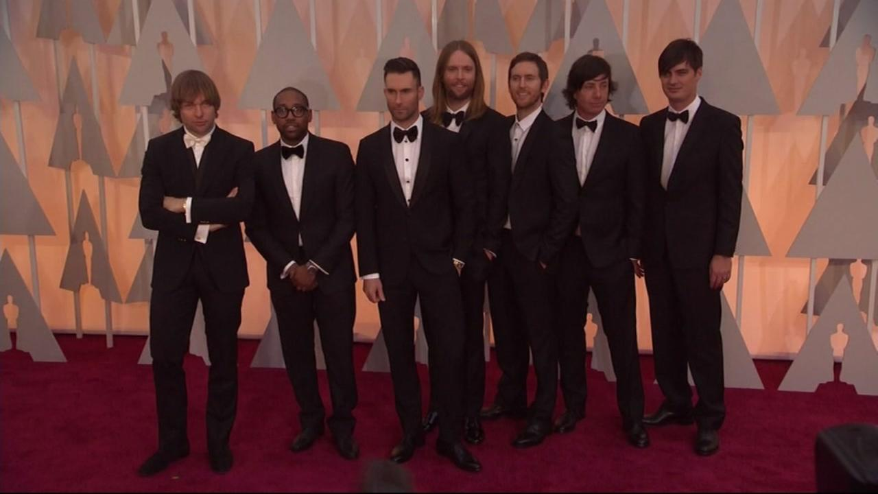This is an undated image of Maroon 5.