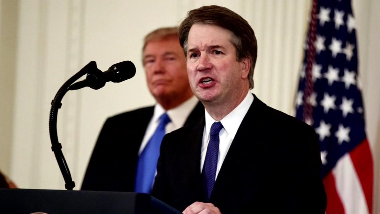 This is an undated image of Brett Kavanaugh.