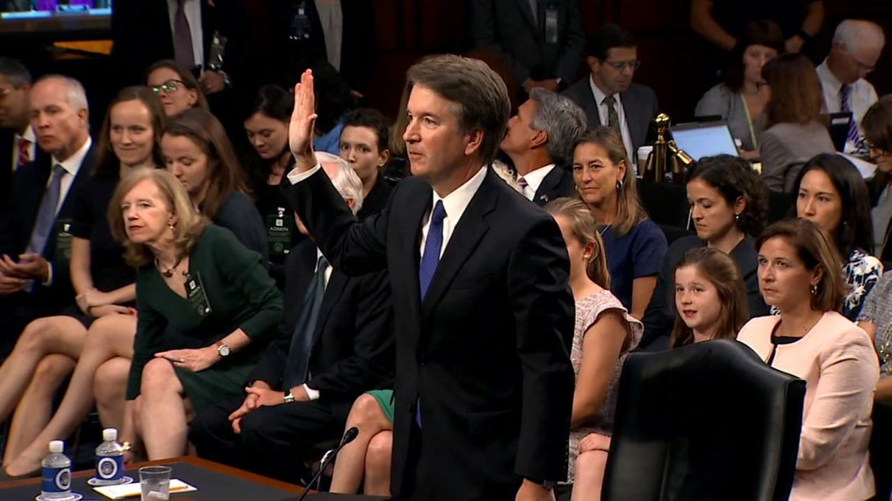 Brett Kavanaugh appears in Washington D.C.