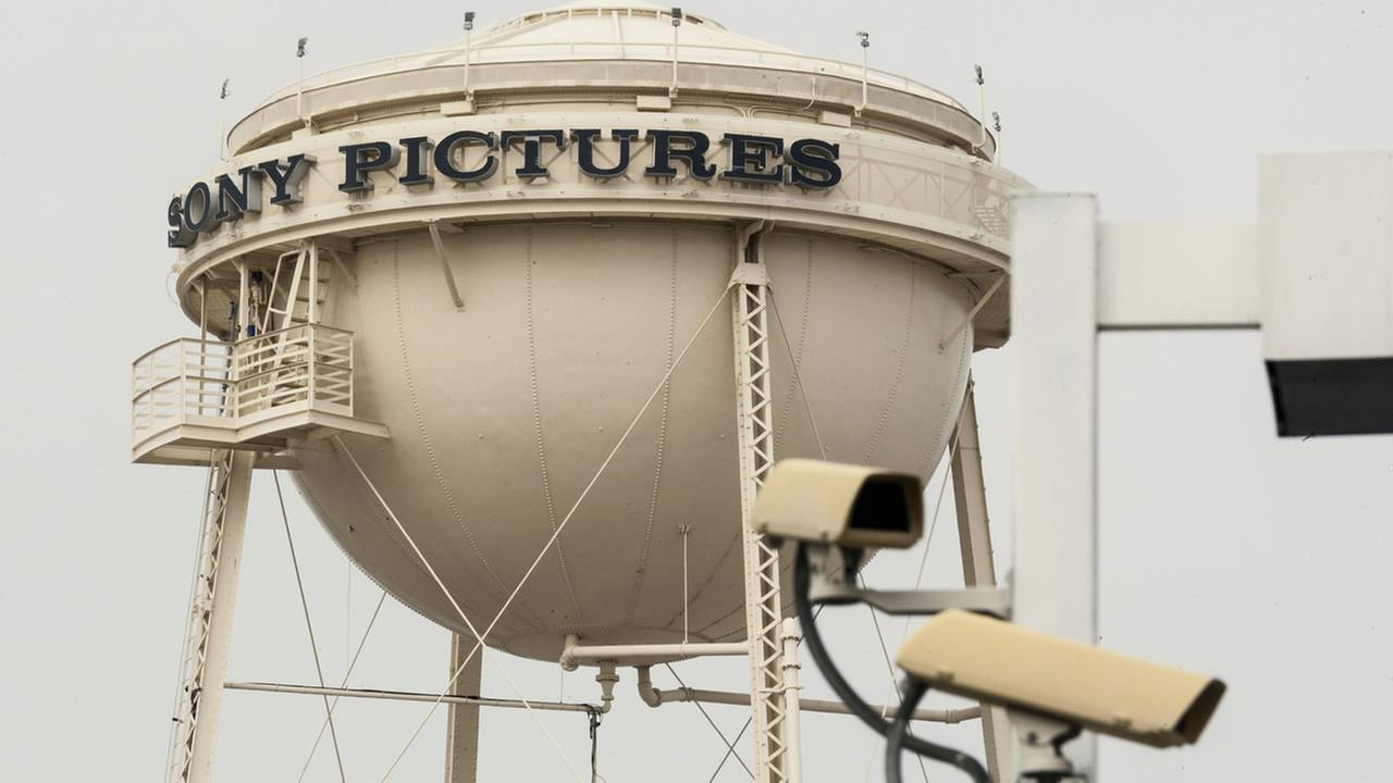 Sony Pictures Studios water tank in Culver City, Calif.