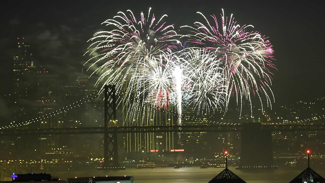 fireworks in the bay area 2015