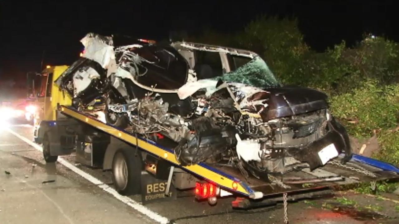 Fatal crash on I-580 on-ramp in Oakland.