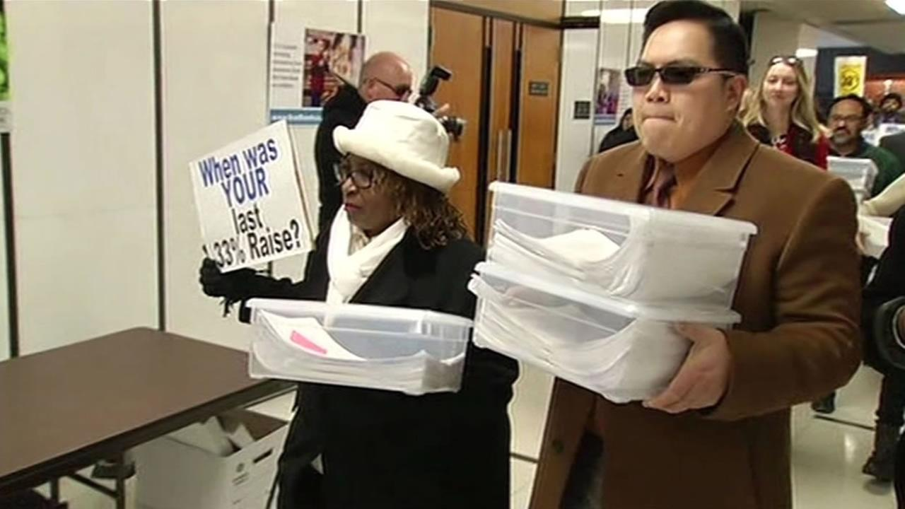 Group holding petition