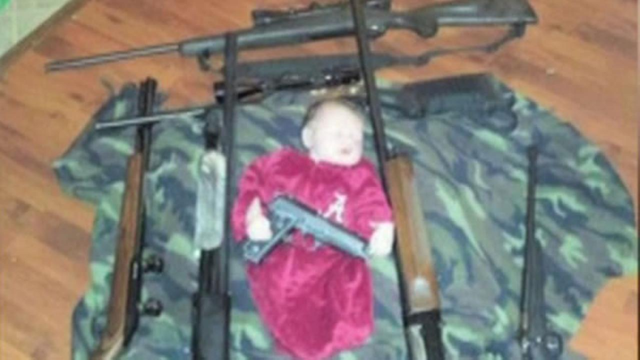 An Alabama shooting range is getting just what it wanted when it posted a controversial picture of a baby on its Facebook page.