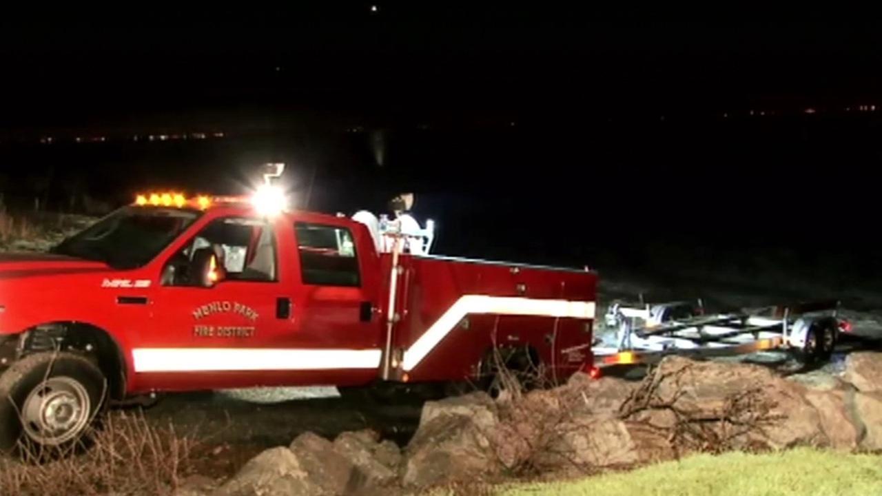 Coast Guard rescue near Alviso.