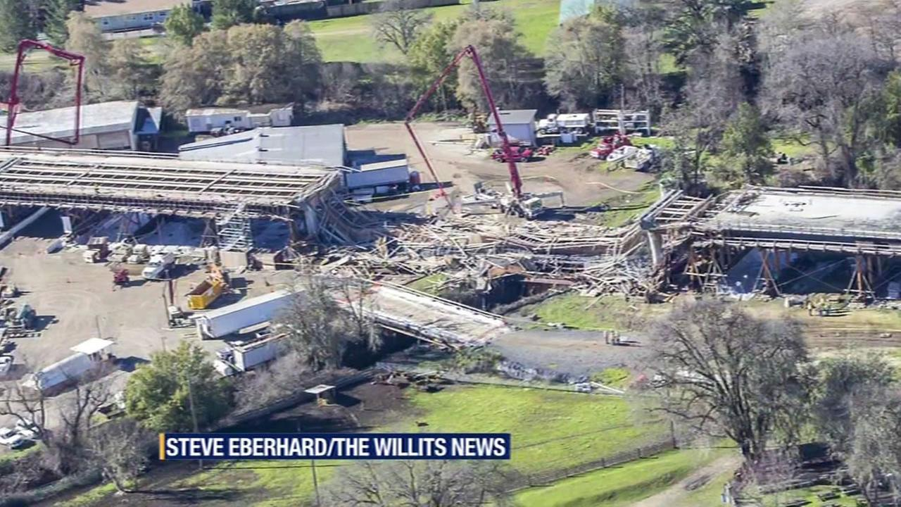 Willits freeway collapse