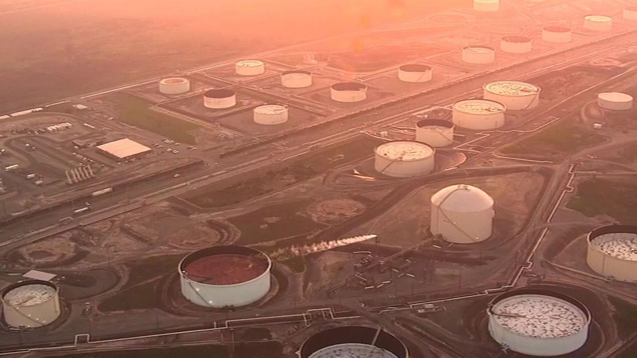 Tesoro Refinery in Martinez