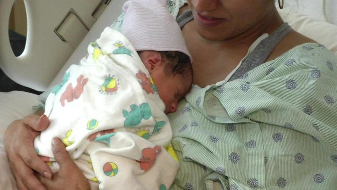 Paolo is the first baby born at the new UCSF Benioff Childrens Hospital in San Francisco, Calif.