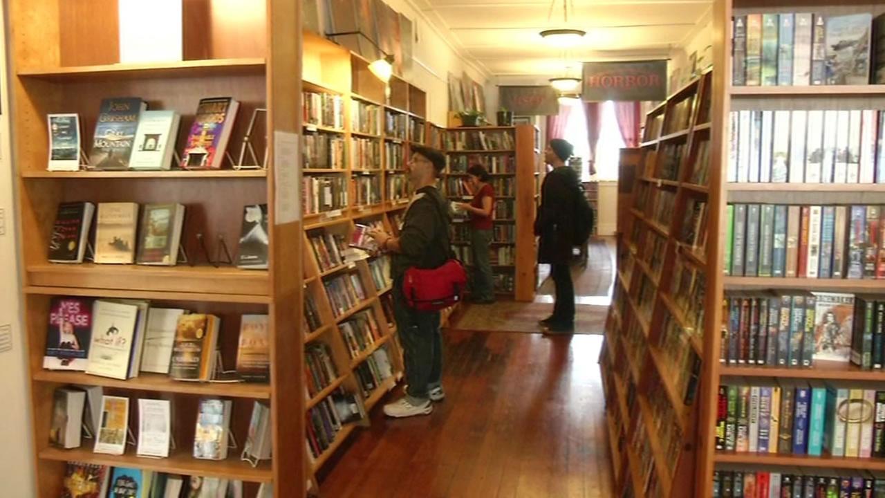 Borderlands bookstore