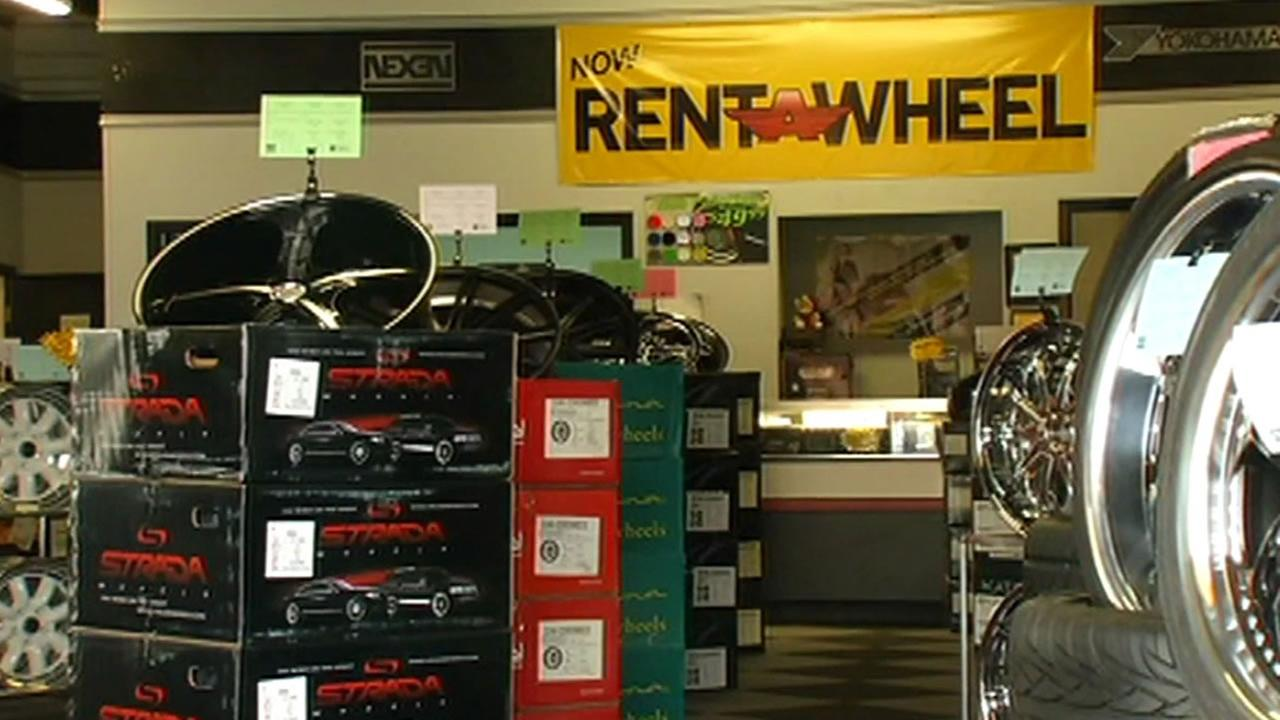 Rent A Wheel shop