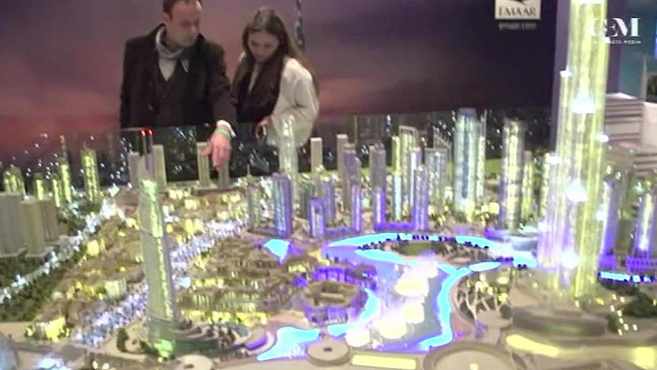 Reality trade show display in China