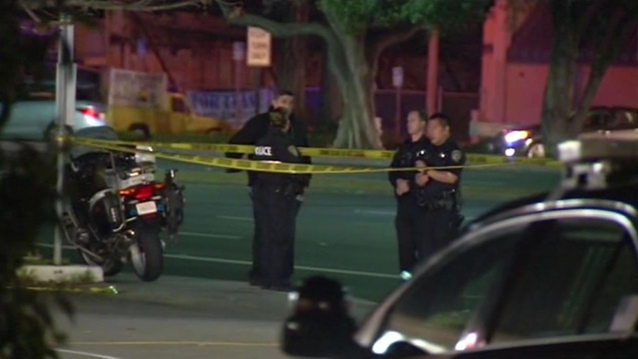 Danny Rodriguez-Garcia, 30, was arrested in connection with the officer-involved shooting, which occurred at about 6:35 p.m. Monday in Sunnyvale.