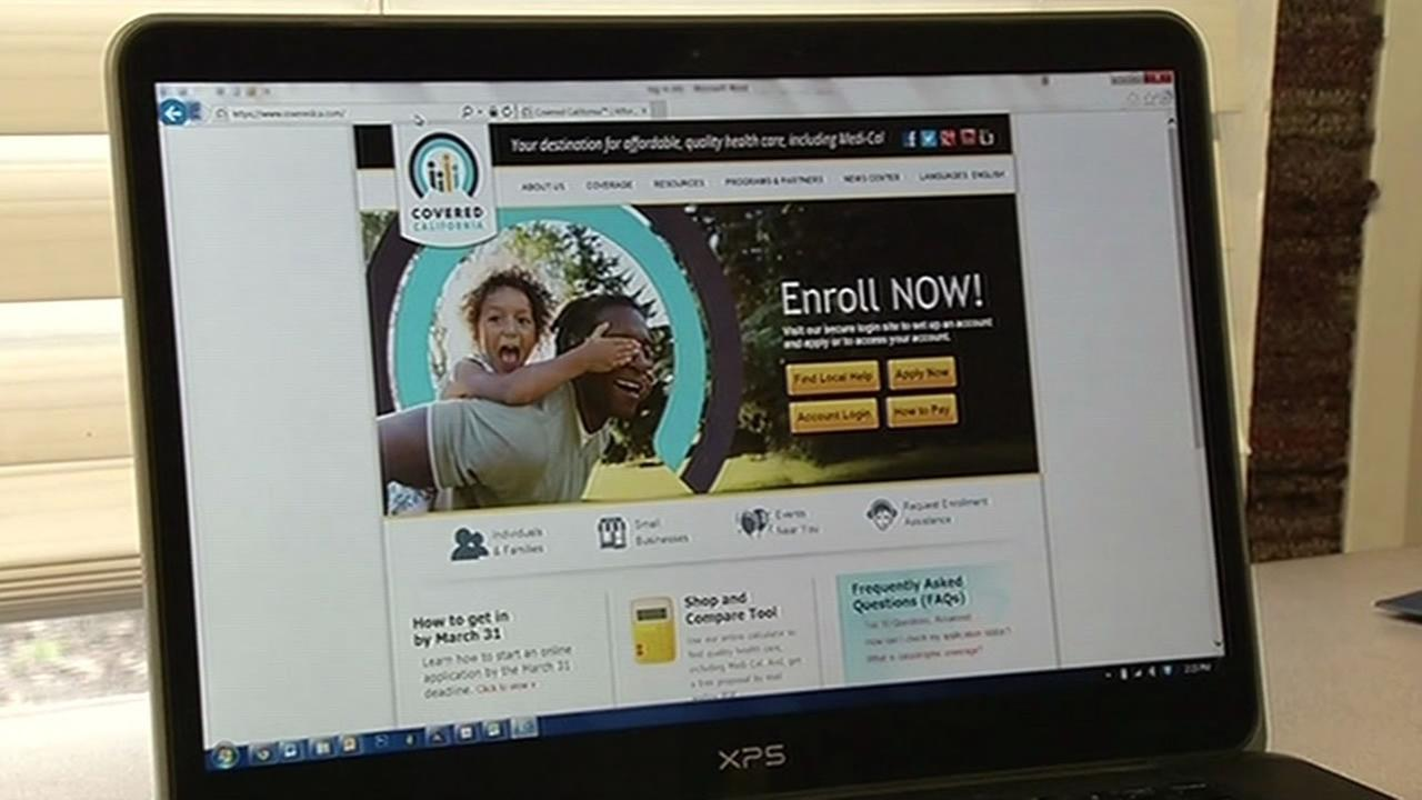 Covered California website.