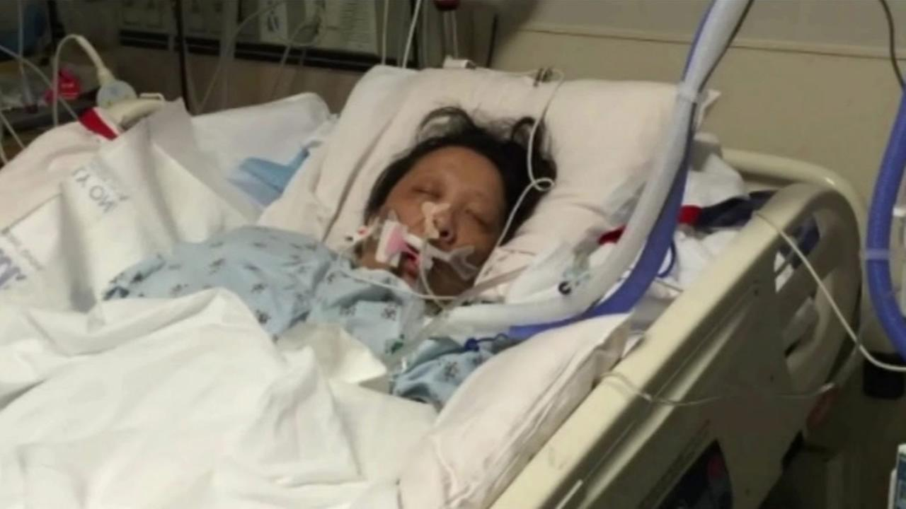 San Francisco resident Daisy Lee, 46, is battling necrotizing fasciitis, commonly called flesh-eating bacteria.