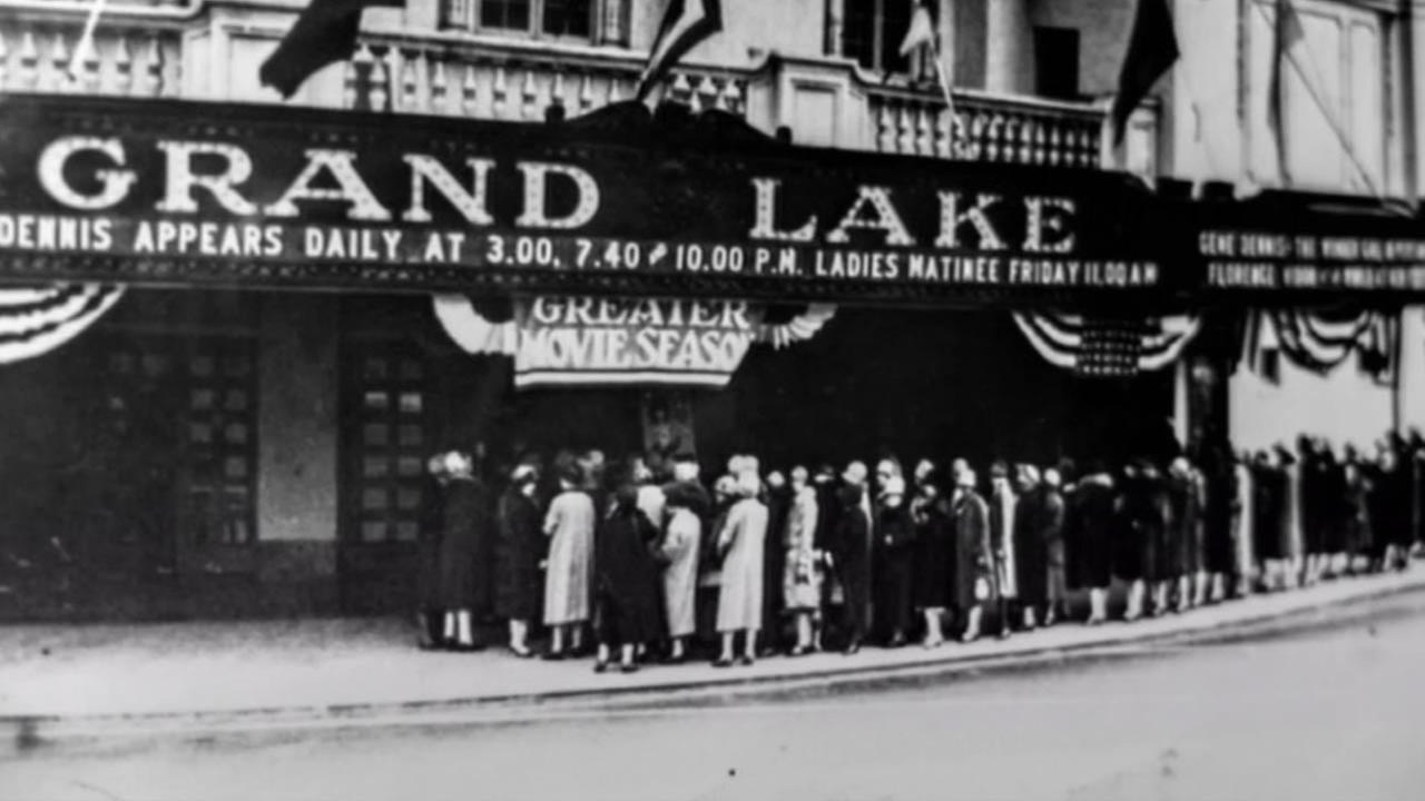 A look at the historic Grand Lake Theatre in Oakland, Calif.