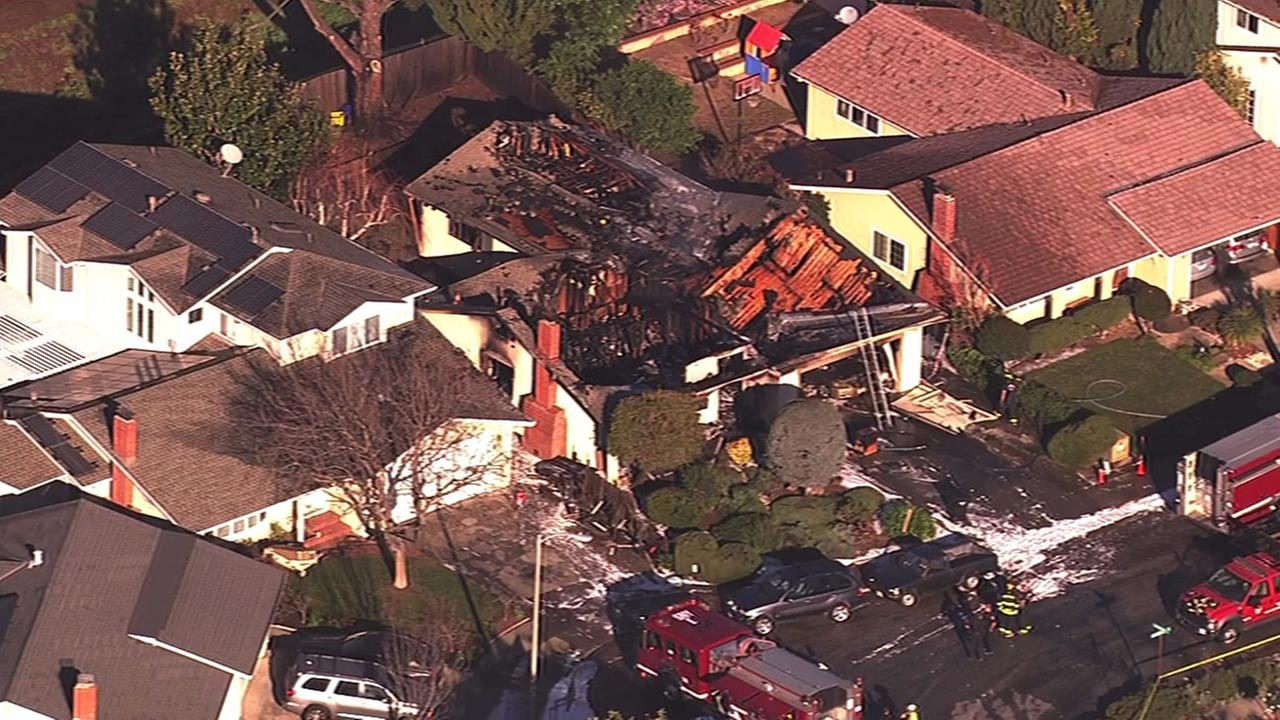 Fatal house fire in Sunnyvale.