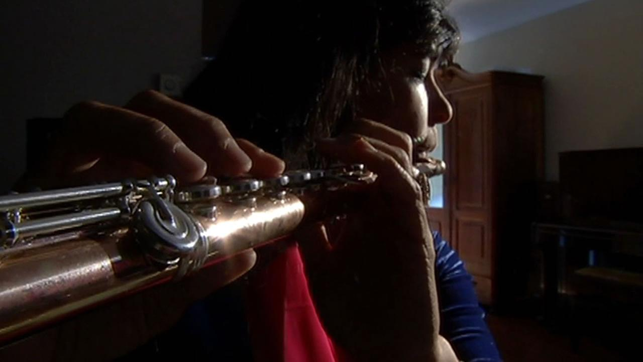Concert flautist and Half Moon Bay resident Viviana Guzman