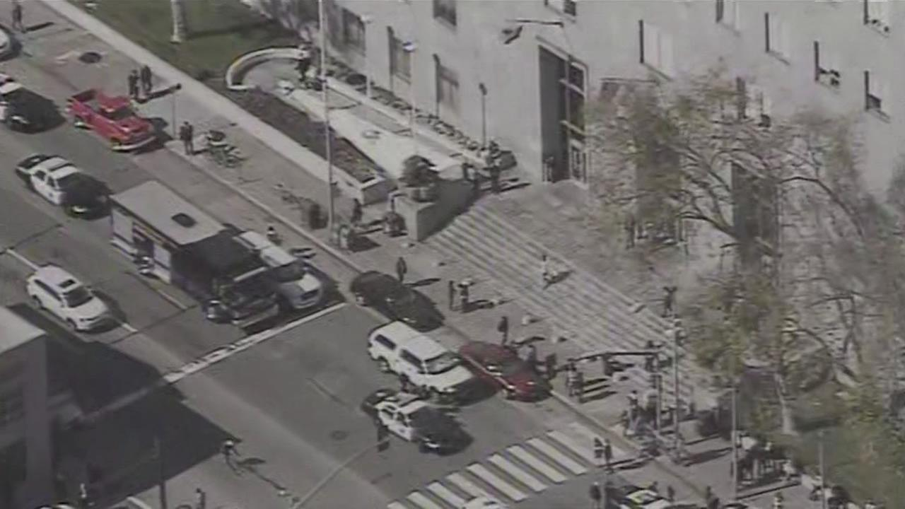 Suspicious package scare at SF Hall of Justice over