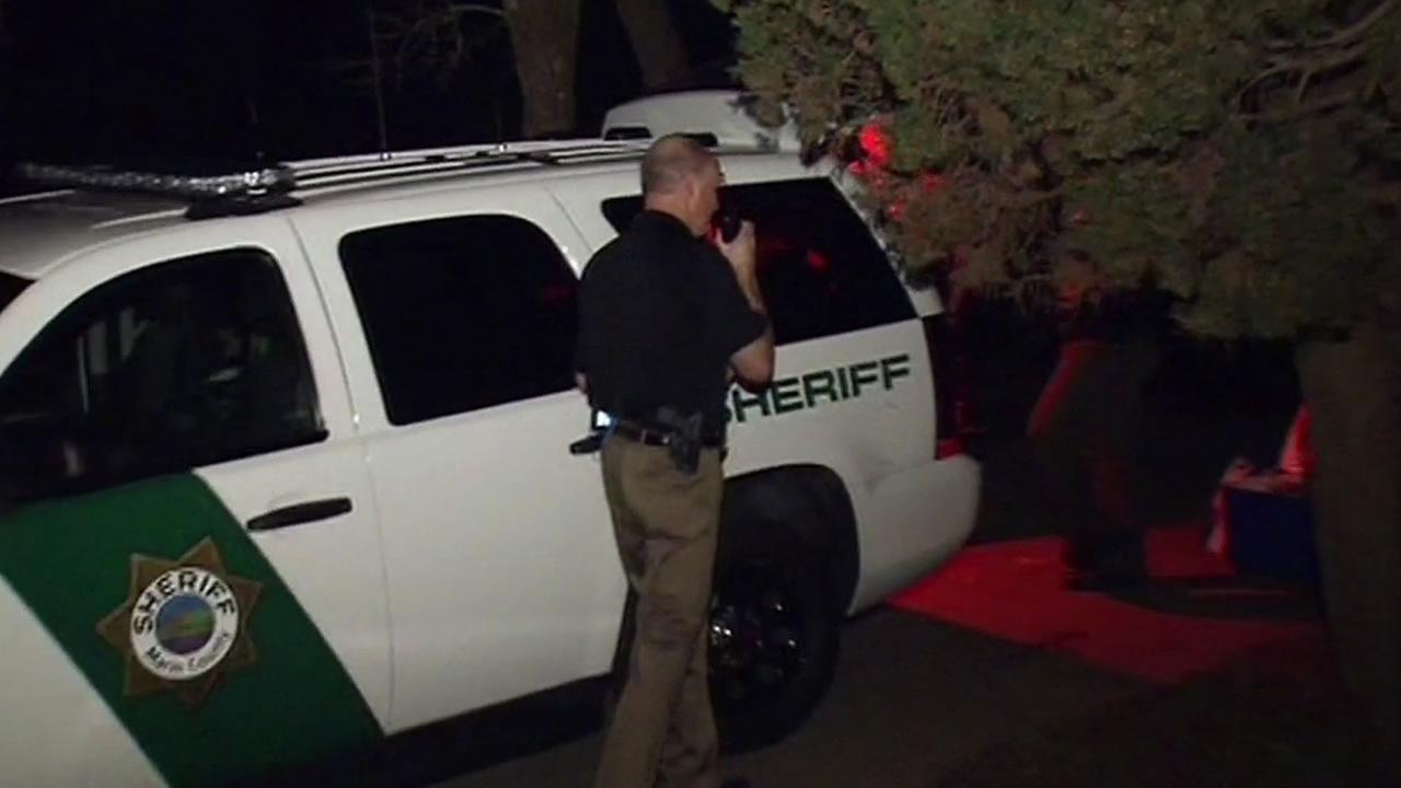 Marin County Sheriffs car
