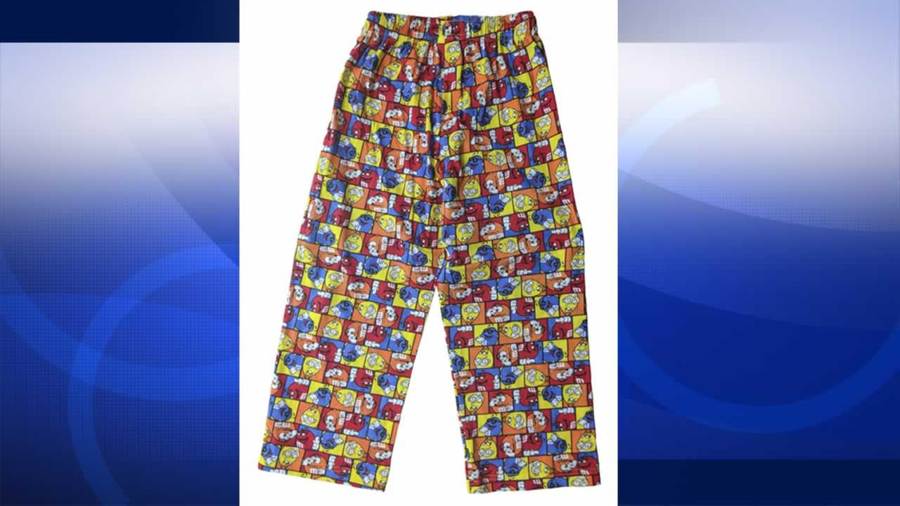The Consumer Product Safety Commission says pajamas made by M&Ms World are not flame resistant.