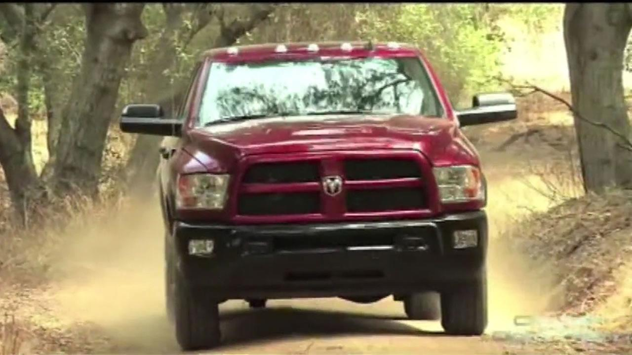 The Environmental Protection Agency has issued a recall for some Dodge Ram diesel trucks following complaints of several owners whove been smelling fumes as they drive.