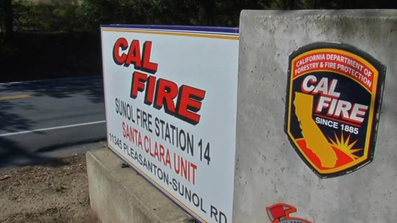 CAL FIRE station in Santa Clara.