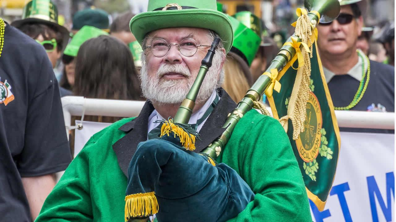 Thousands gathered in San Francisco to participate in and also watch the annual St. Patricks Day Parade in San Francisco on March 14, 2015.