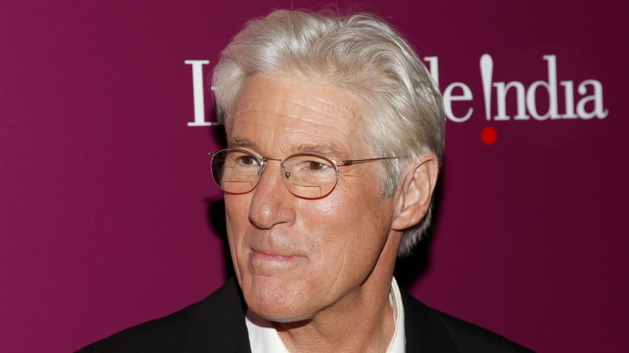 Richard Gere attends the premiere of The Second Best Exotic Marigold Hotel at the Ziegfeld Theatre on Tuesday, March 3, 2015, in New York.
