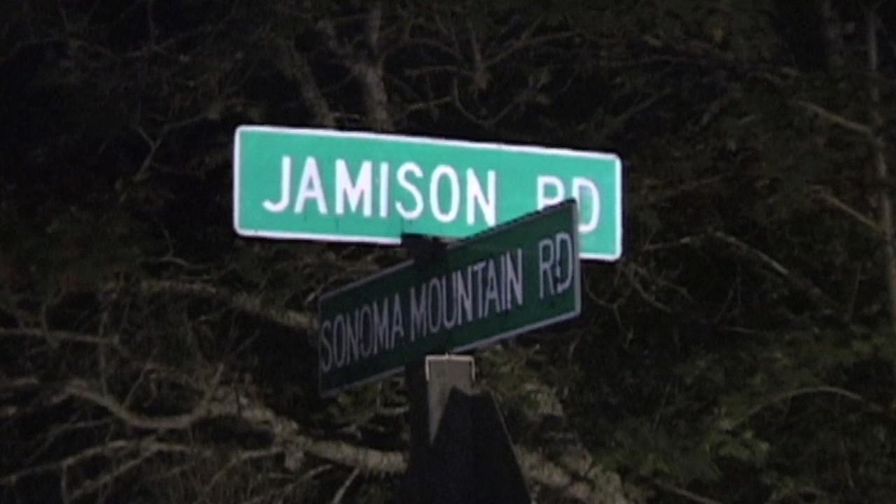 Search area for missing boy in Santa Rosa, California.