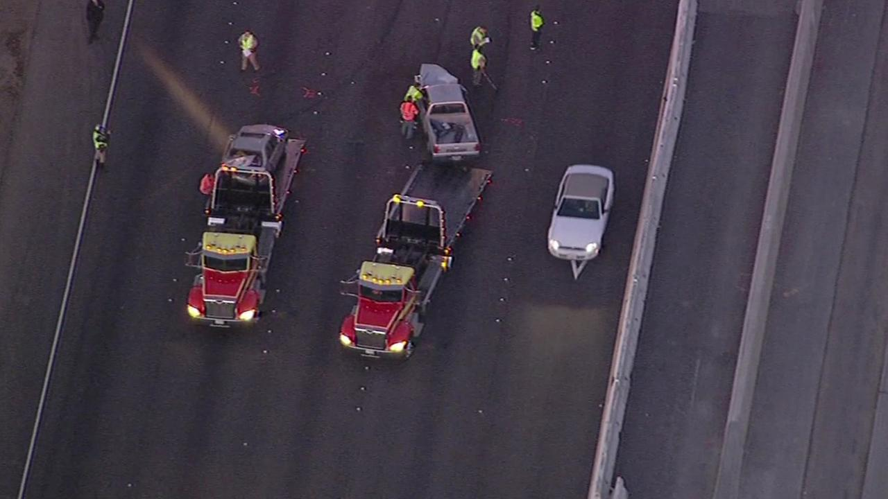 Major injury crash on I-580 in Livermore.