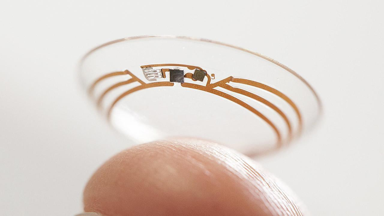 Google contact lenses