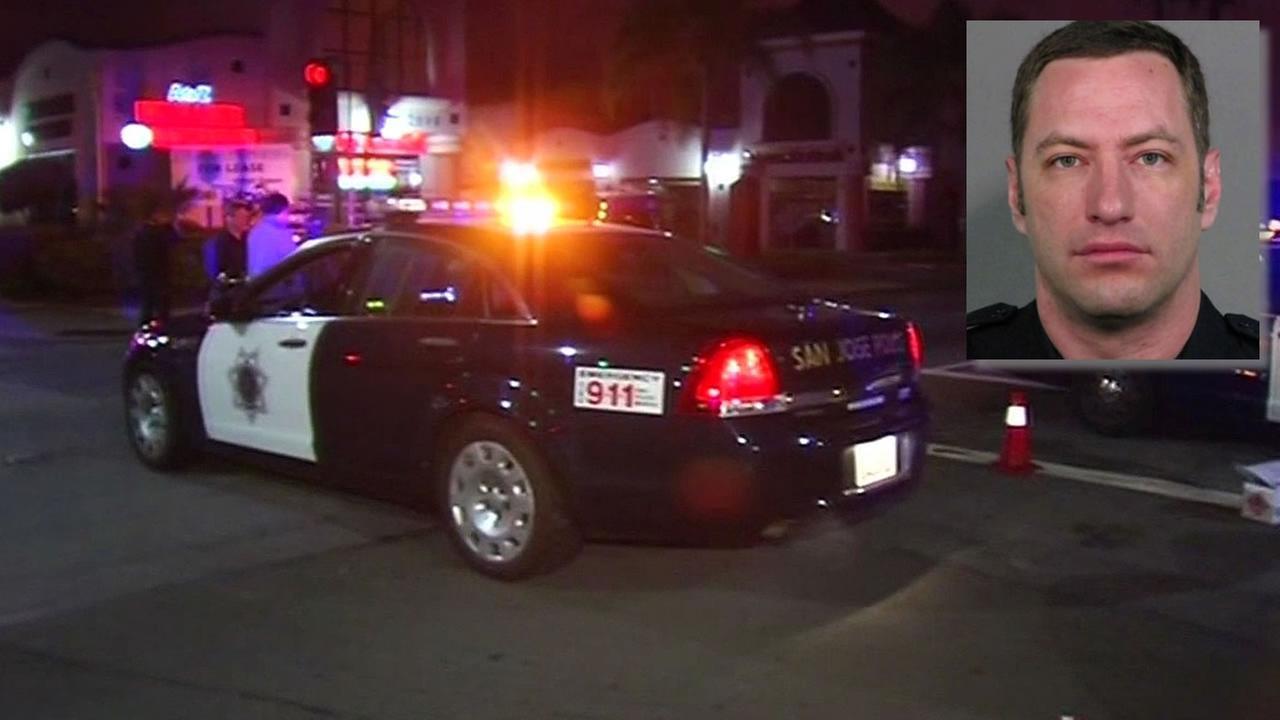 San Jose police Officer Michael Johnson