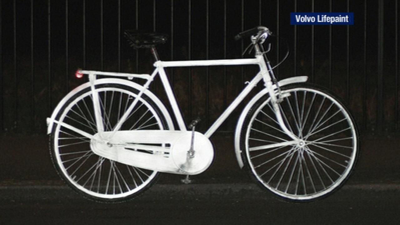 Life Paint Reflective Spray Turns Bicycles Clothes Bright White