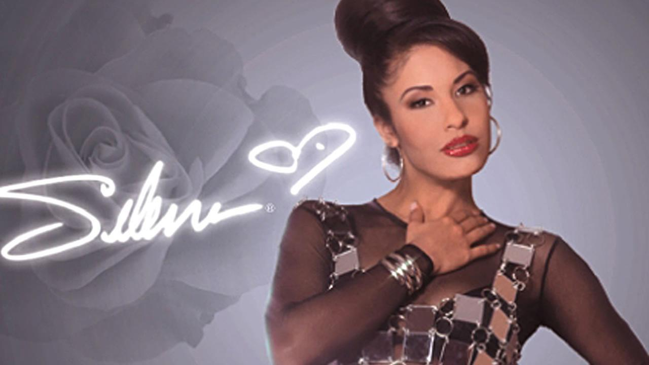This is a photo provided by Premier Postage of a stamp of Latin artist Selena Quintanilla. (AP Photo/Blanca Charolet, Premier Postage via Hispanic PR Wire, HO)