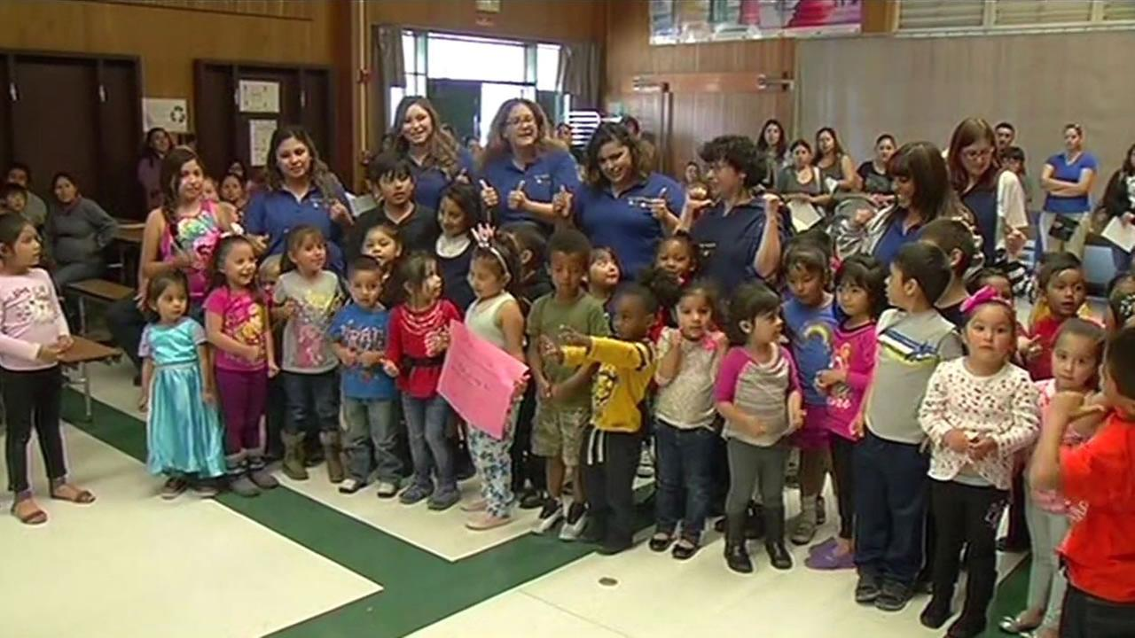 Preschoolers and their teachers