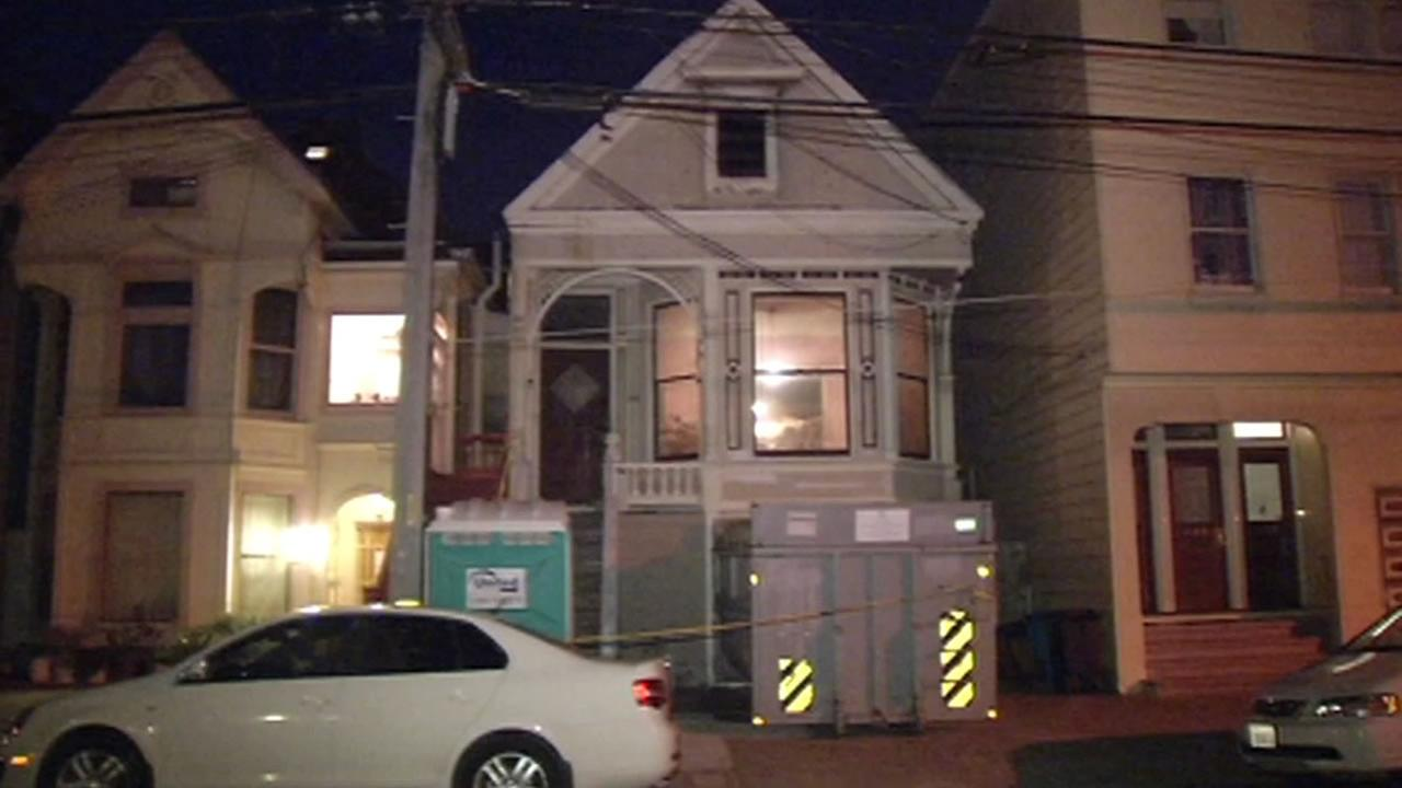 A body was found in a trash-filled home in San Francisco on April 4, 2015.