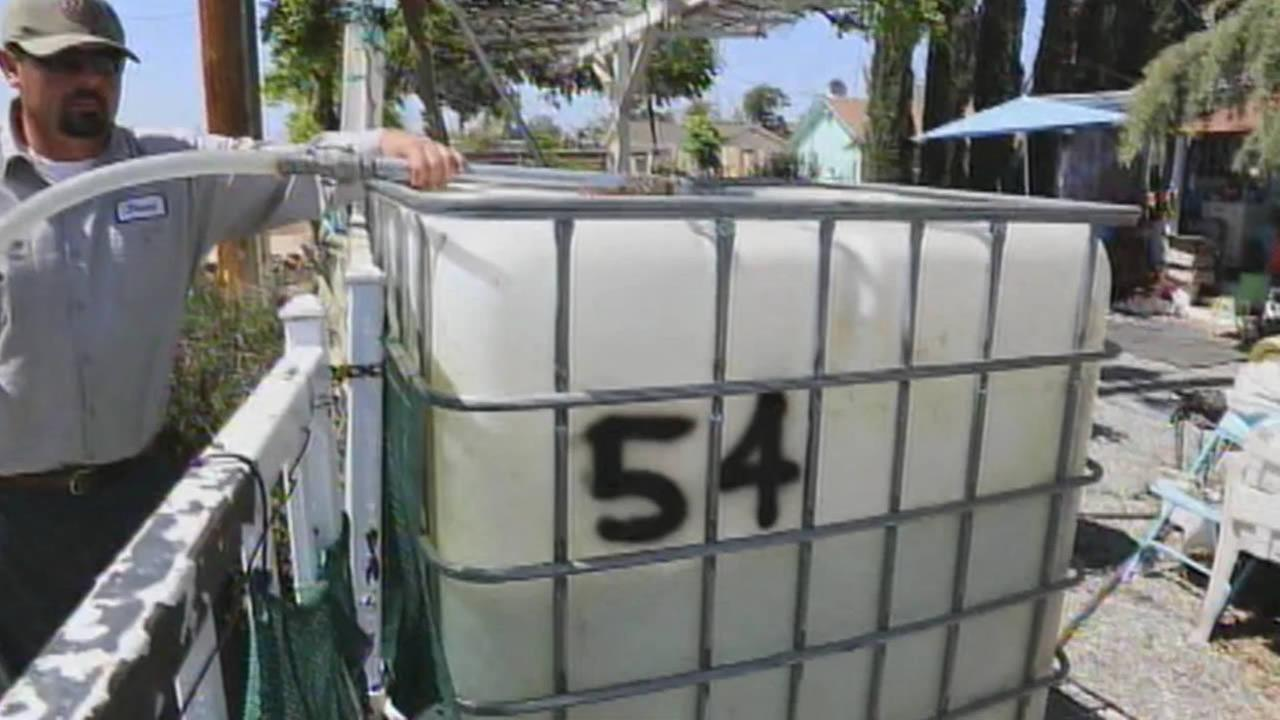 Porterville water delivery