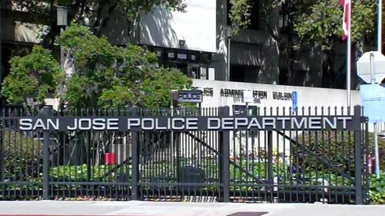 San Jose Police Department front gates