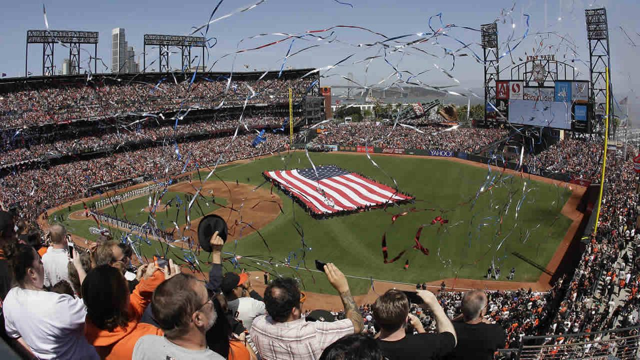 san francisco giants excited for team's home opener at at&t park