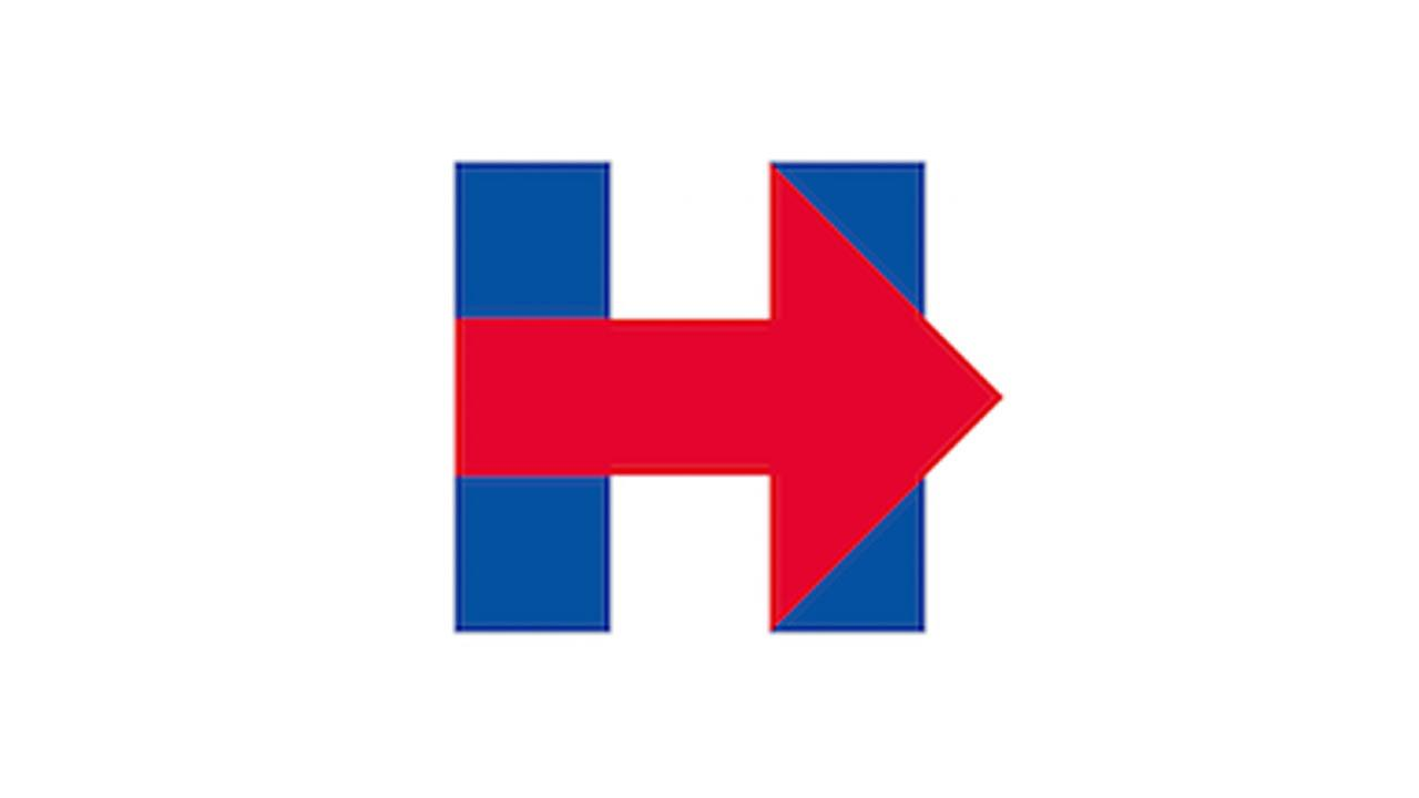 Hillary Clintons presidential campaign logo