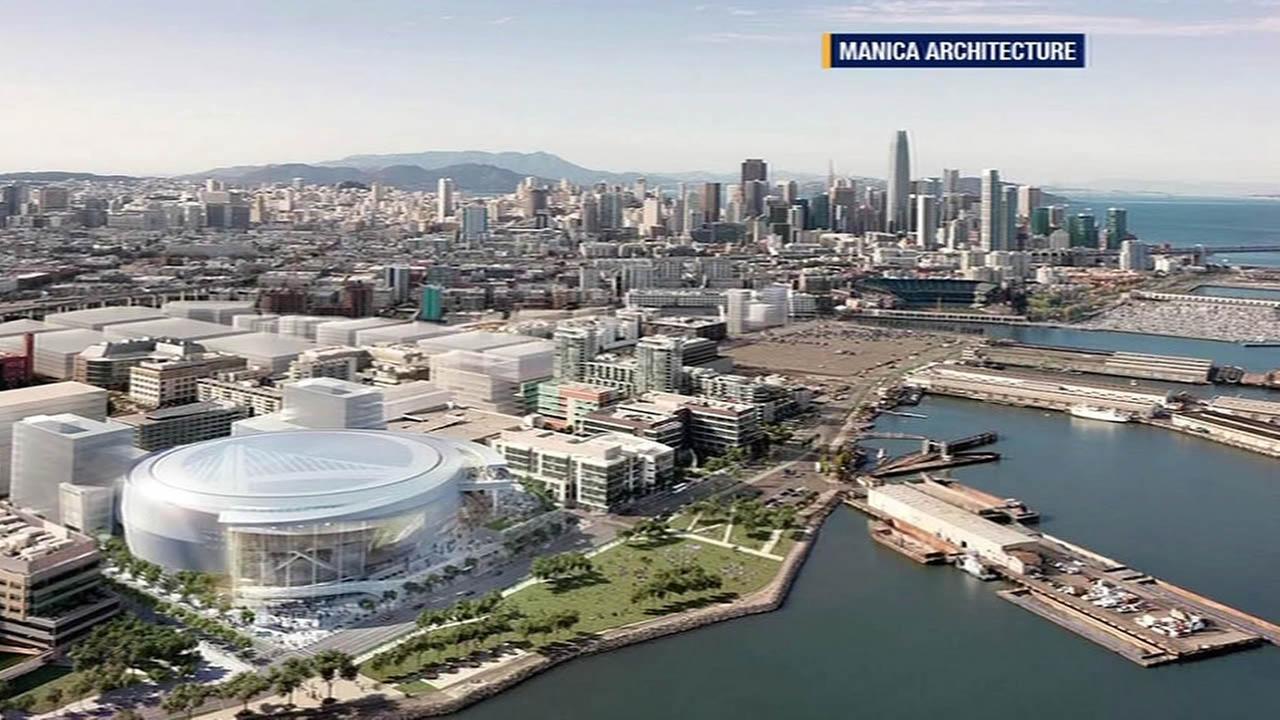 new Golden State Warriors arena
