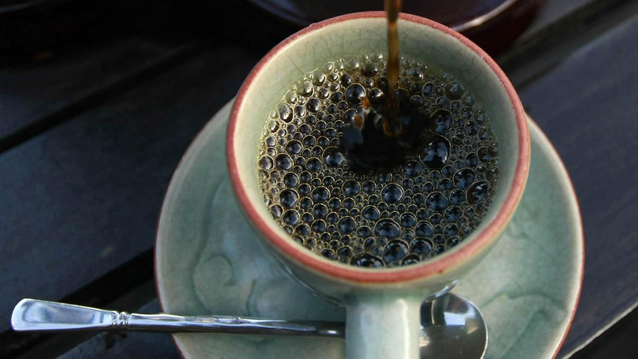 Coffee in Thailand. (AP Photo/Apichart Weerawong)