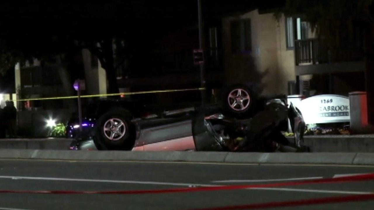 San Jose police are investigating a fatal accident that left two dead and three others injured on April 15, 2015.