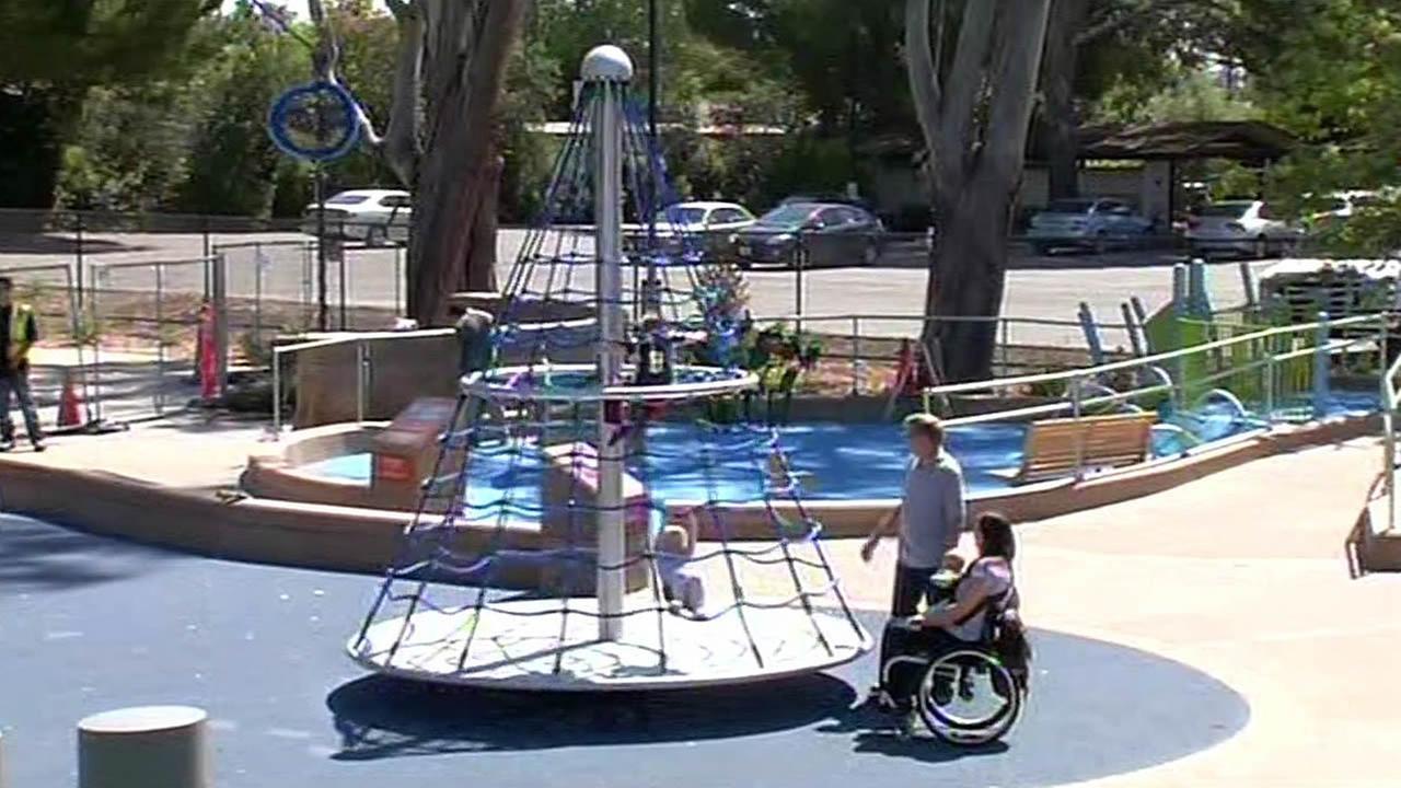 Magical Bridge playground in Palo Alto
