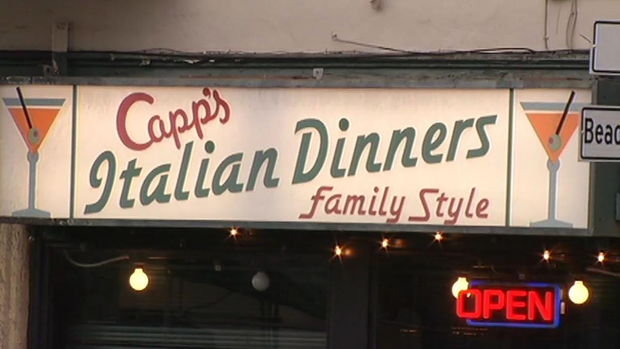 Capps Corner, a restaurant in San Franciscos North Beach neighborhood, is seen on Saturday, April 18, 2015.