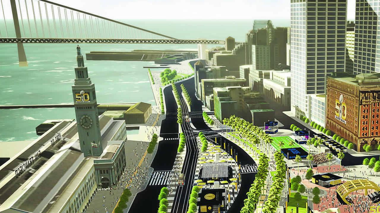 The Super Bowl 50 Host Committee has revealed its plans for Super Bowl City in San Francisco, a free-to-the-public fan village.
