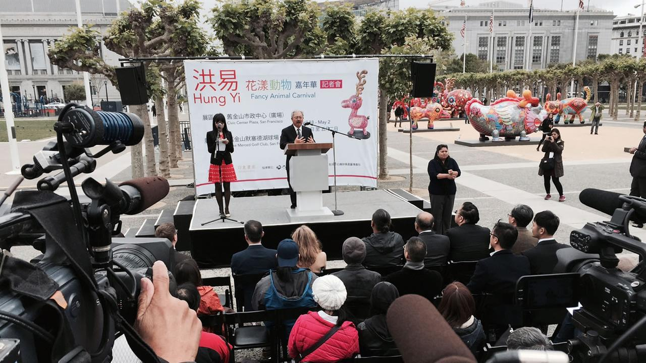 ed lee in civic center