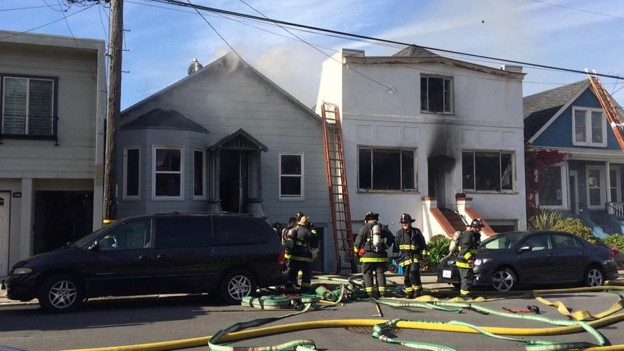 2 homes burned on Maynard Street